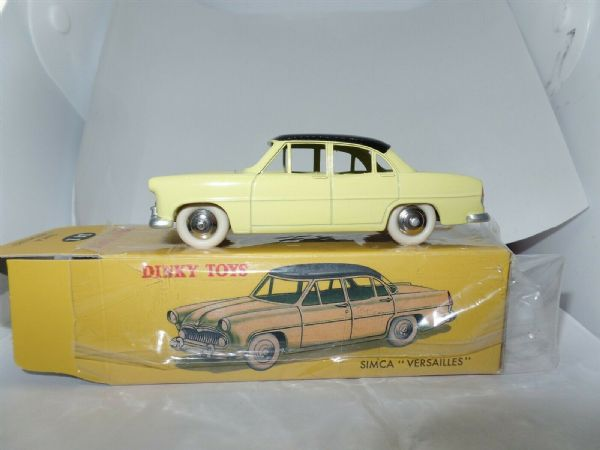 Atlas French Dinky 24Z SIMCA VERSAILLES IN YELLOW